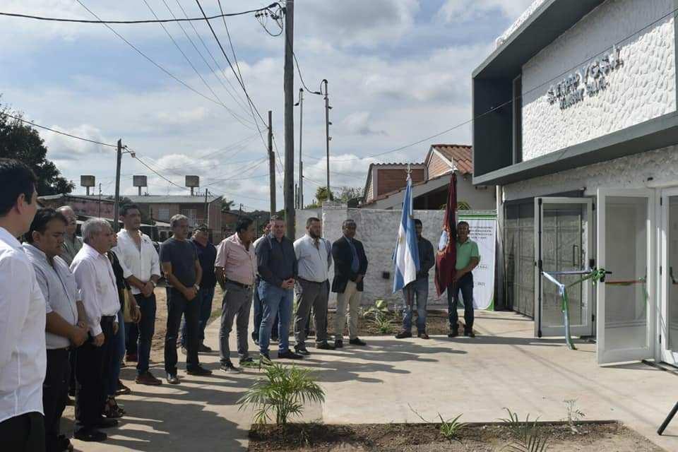 Sindicato Petroleros de Salta y Jujuy - Inauguración salón multiuso en Aguaray