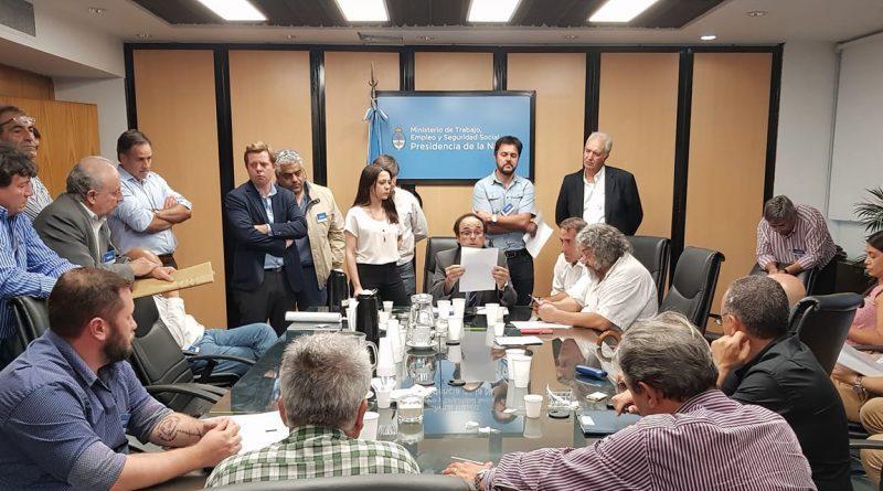 Sindicato Petroleros de Salta y Jujuy - Reunión con el Ministerios del Interior de la Nación