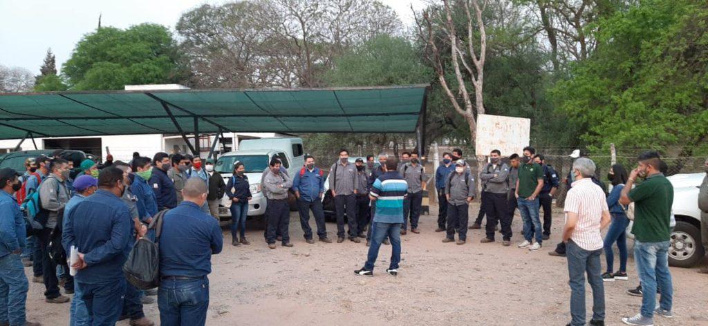 2 de Octubre: Asamblea Informativa Refineria Campo Duran, comunicando esta de negociación paritaria, la semana próxima continuamos con la modalidad en el sector Yacimientos.